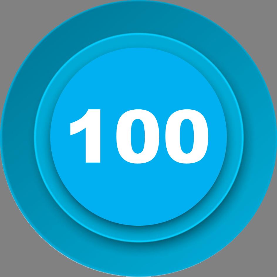 100 рецензий